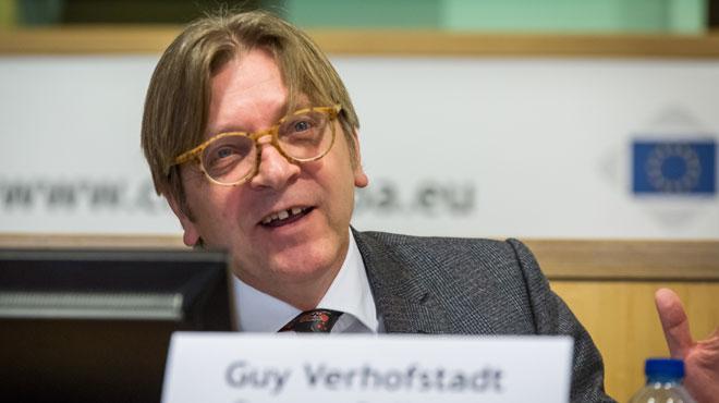 Verhofstadt s'associe à Emmanuel Macron pour les prochaines élections européennes