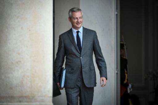 Le Maire s'attend à une croissance de 1,7% en 2018, moins forte que prévu