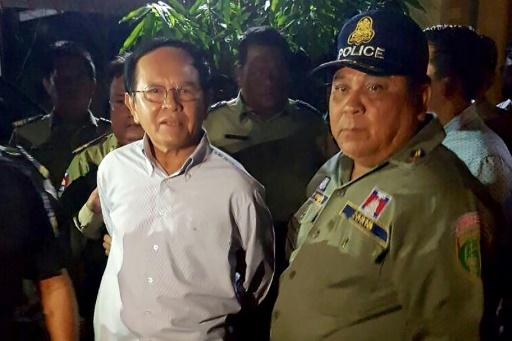 Cambodge: le chef de l'opposition libéré sous caution