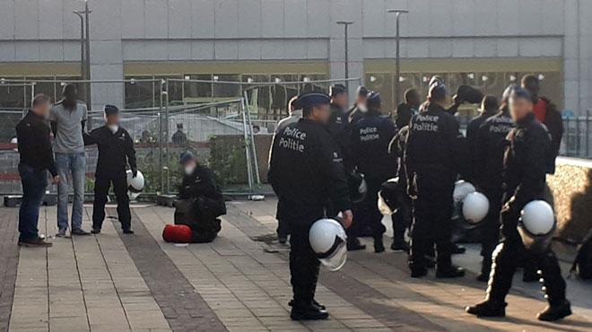Violences policières contre les migrants en Belgique? Médecins du Monde a compilé des centaines de témoignages