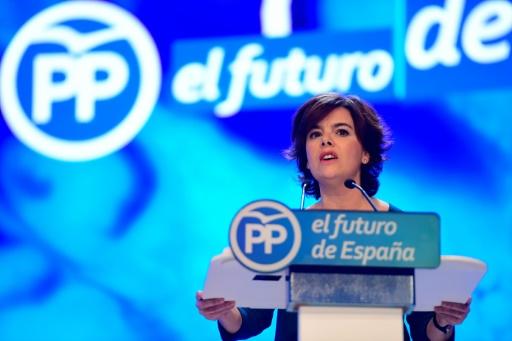 Espagne: l'ex-vice-présidente Saenz de Santamaria arrête la politique