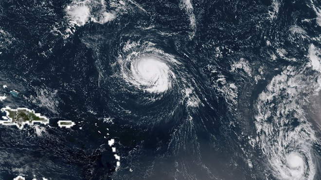 L'ouragan Isaac s'approche des Antilles: