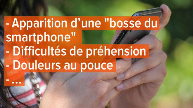 Quand l'utilisation du smartphone modifie notre corps: