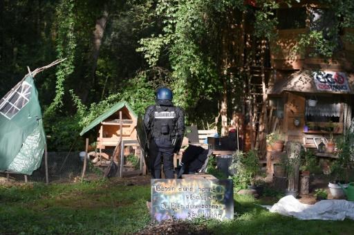 ZAD près de Strasbourg: une eurodéputée blessée lors de la dispersion des manifestants