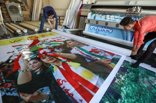 Les Kurdes d'Irak lancent la campagne pour l'élection du Parlement régional
