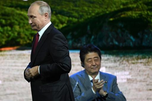 Poutine propose un traité de paix avec le Japon cette année et