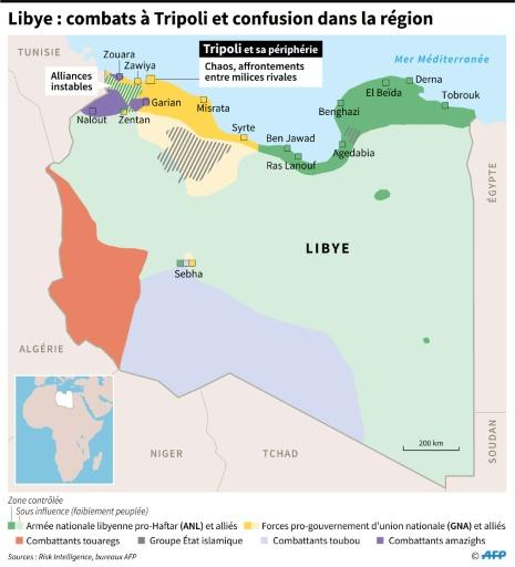 Libye: Tripoli et ses habitants empêtrés dans les violences