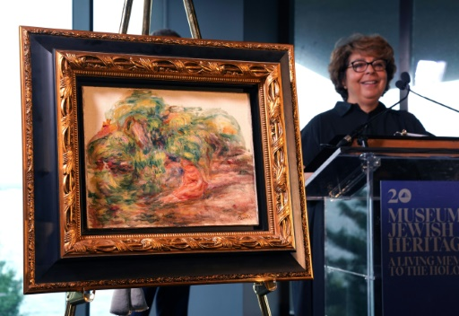 Les Etats-Unis restituent à une Française un Renoir volé par les Nazis