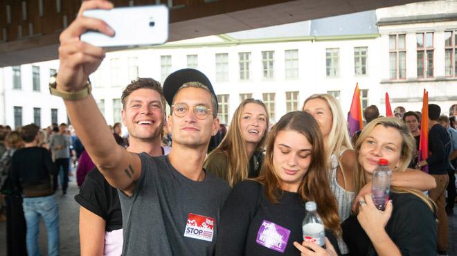 Des membres du groupuscule Schild & Vrienden exclus du Conseil flamand de la jeunesse