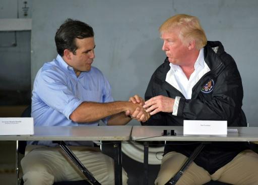 Trump conteste le bilan officiel de l'ouragan Maria à Porto Rico
