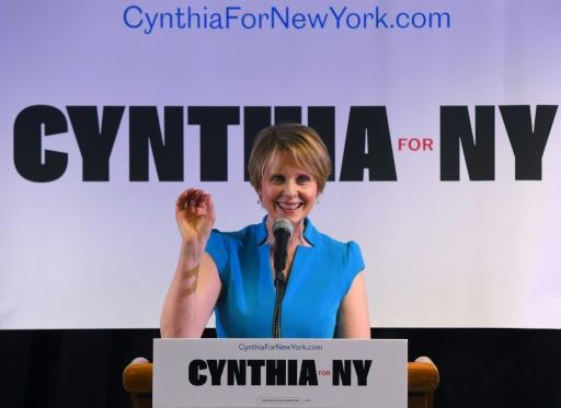 L'actrice Cynthia Nixon en outsider à la primaire face au gouverneur de New York