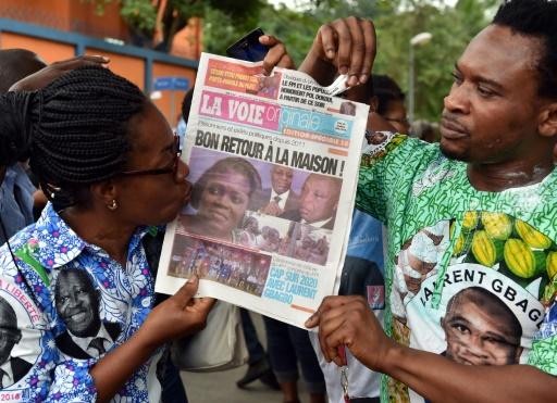 Côte d'Ivoire: manifestation