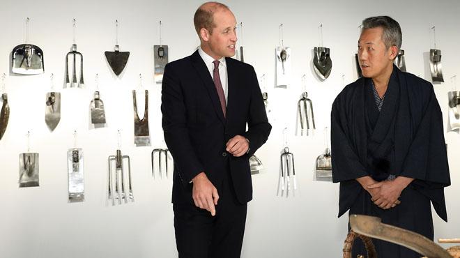 La gaffe du prince William alors qu'il visite une maison japonaise (vidéo)