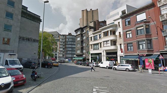 A Liège, une dame fait une chute de 10 mètres de haut: elle aurait tenté d'échapper à un malfaiteur