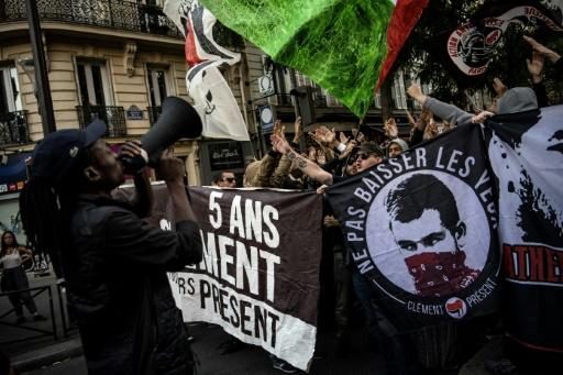 Procès Méric: 500 antifascistes rassemblés en mémoire de