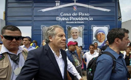 Venezuela: le secrétaire général de l'OEA n'exclut pas une