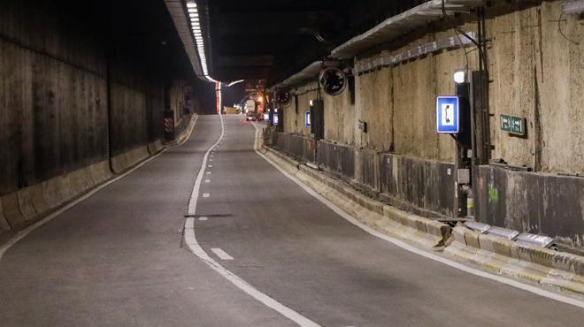 Le tunnel Léopold II fermé à la circulation ce samedi suite à un accident