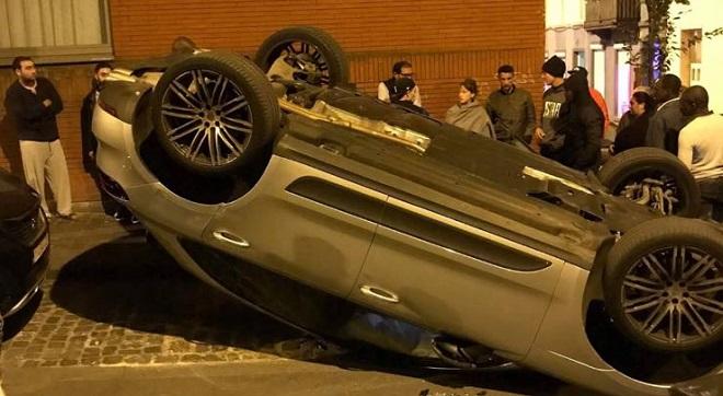 Un conducteur fait plusieurs tonneaux à Schaerbeek: retrait de permis immédiat