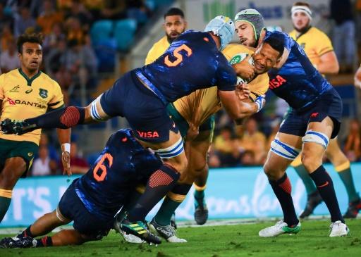 Rugby Championship: l'Argentine crée l'exploit en Australie (23-19)