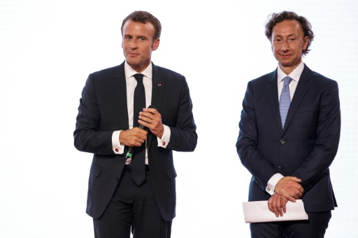 Patrimoine: Macron salue