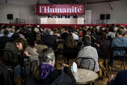 A la fête de l'Huma, Pierre Laurent (PCF) refuse l'