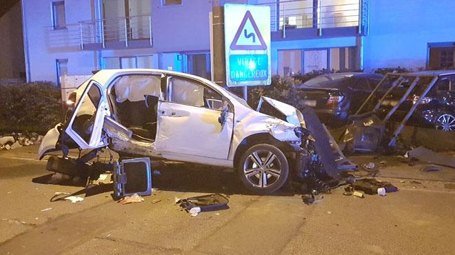 Grave accident  à Gerpinnes dimanche soir: