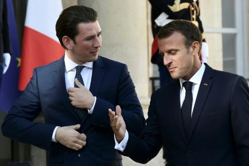 Migrants: Kurz veut un sommet UE-Afrique, Macron insiste sur les expulsions
