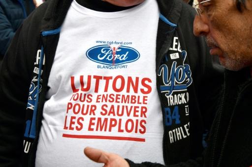 Usine Ford à Blanquefort: les salariés tentent de rester mobilisés