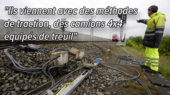 Vols de câbles: tout le rail belge dépouillé par une seule et même bande criminelle aux