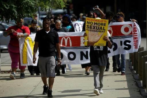 Des employés américains de McDonald's en grève pour dénoncer le harcèlement