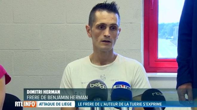 Dimitri Herman, le frère du tueur de Liège, interpellé pour plusieurs braquages dans des magasins de bricolage