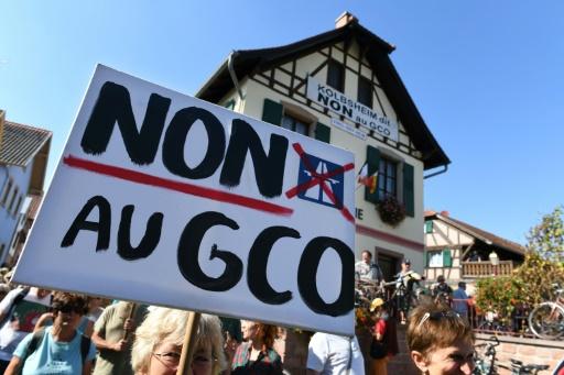 Projet de rocade à Strasbourg: le tribunal administratif se prononcera mardi