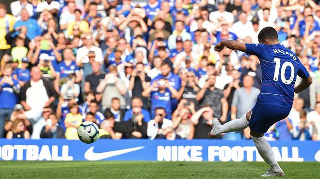 Surprise à Chelsea: Eden Hazard écarté du groupe pour le premier match d'Europa League