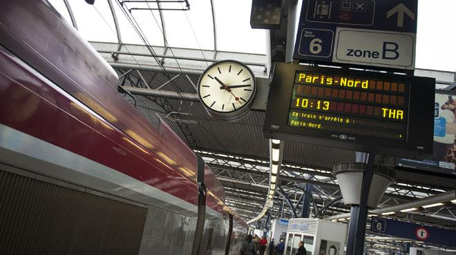 Encore un vol de câbles sur le rail! des retards sont signalés sur la ligne Bruxelles-Paris