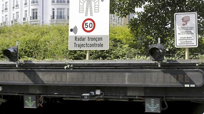 Quatre nouveaux radars tronçons bientôt installés en Wallonie: voici où il faudra lever le pied