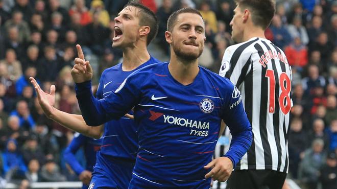 Maurizio Sarri justifie l'absence d'Eden Hazard pour les débuts de Chelsea en Europa League
