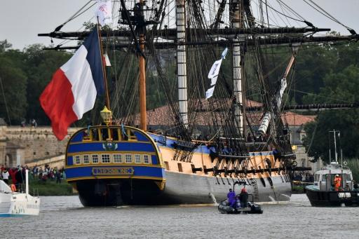 L'Hermione fera son quatrième voyage vers la Normandie en avril 2019