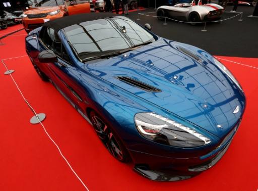 Aston Martin affiche ses ambitions pour son entrée en Bourse à Londres