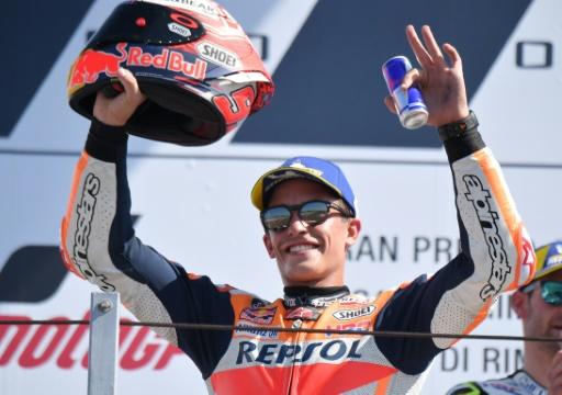 MotoGP: Marquez toujours en position de force au GP d'Aragon