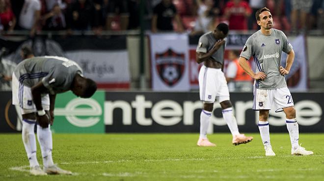 SENSATION en Slovaquie: le Spartak Trnava bat Anderlecht en Europa League