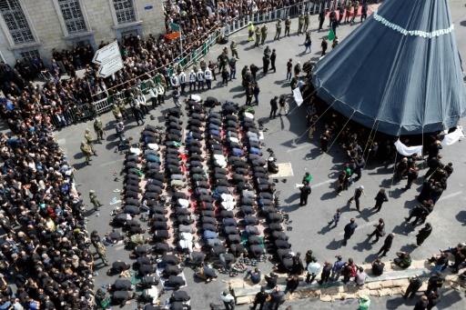 À Téhéran, tchadors ou jeans déchirés pour la fête chiite d'Achoura