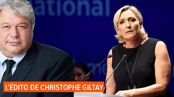 L'édito de Christophe Giltay: Marine n'ira pas chez le psy