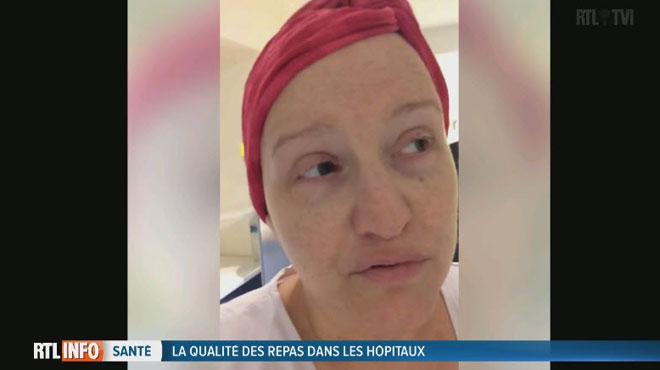 Ingrid, atteinte d'un cancer, se plaint de la nourriture dans les hôpitaux: