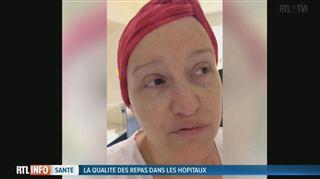 Ingrid, atteinte d'un cancer, se plaint de la nourriture dans les hôpitaux- Un problème de santé publique 2