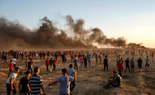 Gaza: un Palestinien tué dans de nouveaux affrontements le long de la frontière avec Israël (ministère)
