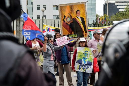 Équateur: reprise de l'audience sur l'ex-président Correa