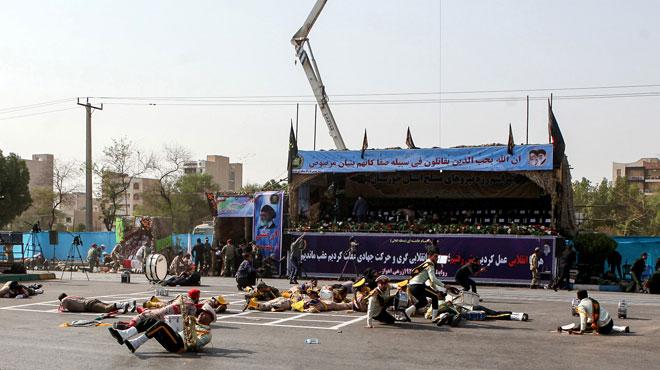 Un attentat contre un défilé militaire fait des dizaines de morts en Iran
