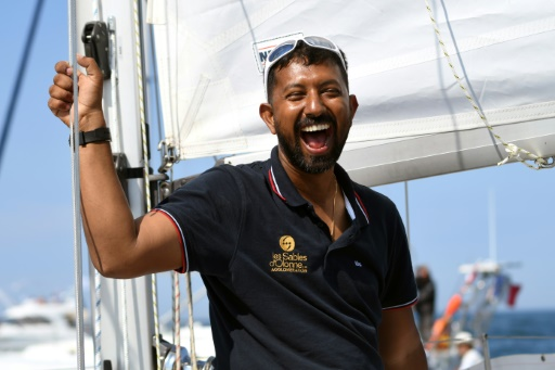 Le skipper indien Abhilash Tomy
