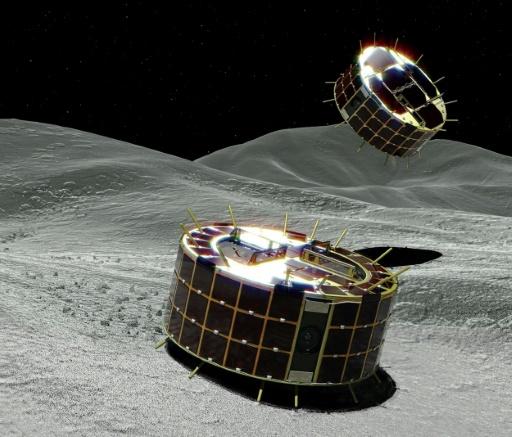 Deux micro-robots japonais ont commencé leur exploration d'un astéroïde