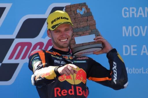 Moto2: deuxième succès pour Brad Binder au GP d'Aragon